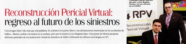 RPV S.L, en la revista «Emprendedores».